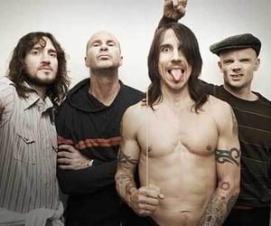 band, red hot chili peppers, and 90's image