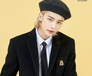 blonde, kpop, and hyunjin image