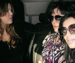 kim kardashian, khloe kardashian, and kris jenner image