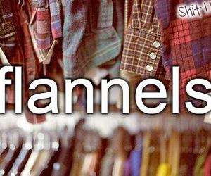 clothes, plaid, and shirts image