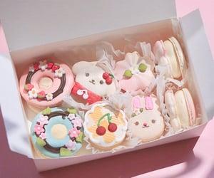 kawaii, cute, and macaroons image