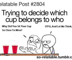 funny, lol, and cup image