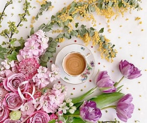 coffee, belleza, and cafe image