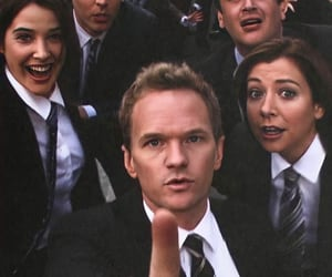 classic, himym, and suit image