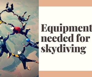 skydiving, equipments, and wai lana butler image