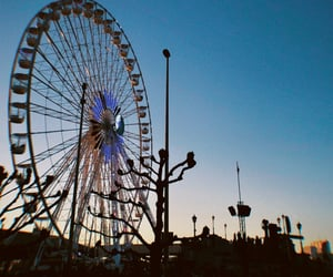 antwerp, disposable camera, and ferris wheel image