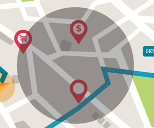 geofencing technology, on demand business, and what is geo fencing image