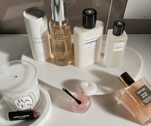beauty, candle, and chanel image