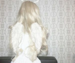 angel, soft, and white image