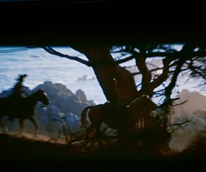 beach, cowboy, and western image