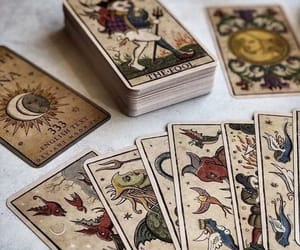 tarot, witch, and aesthetic image