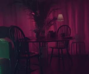 atmosphere, dark, and pink image