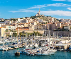 france, travel, and marseille image