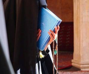 girl, islam, and pray image