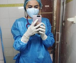 corona, medical students, and stethoscope image