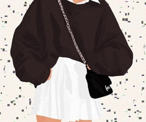 art, casual, and dior image