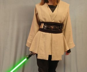 cosplay, green, and jedi image
