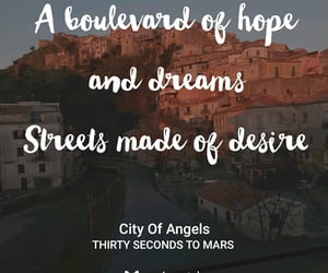 city of angels, musixmatch, and love lust faith + dreams image