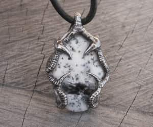 etsy, gift for him, and gothic necklace image