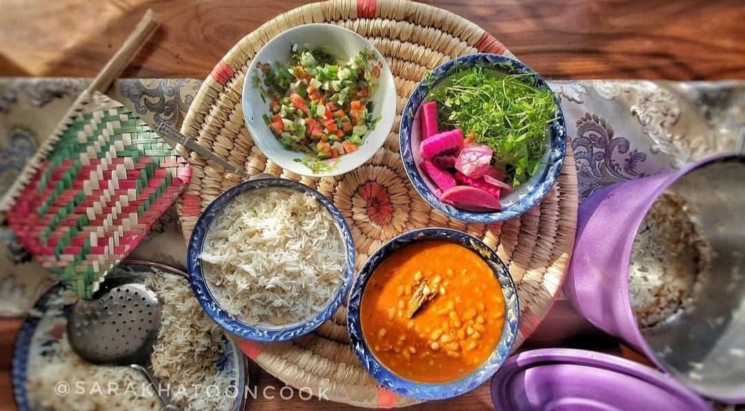 food, rice, and المطبخ العراقي image