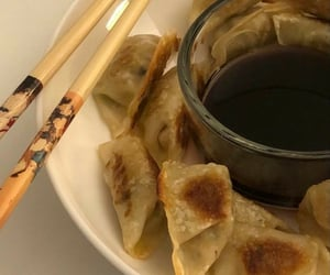 food, soy sauce, and aes image