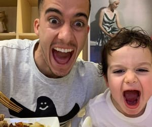 baby, lucas vazquez, and daddy image