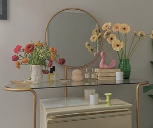 flowers, aesthetic, and decoration image
