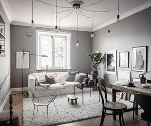 apartment, art, and interior image