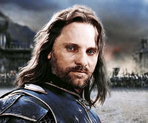aragorn, king, and warrior image