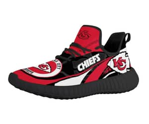 tennis shoes, kc chiefs, and men`s sneakers image