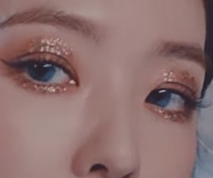 eyes, Psycho, and glitter eyes image