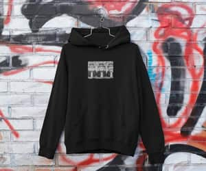 etsy, graphic print hoodie, and graphic print men image