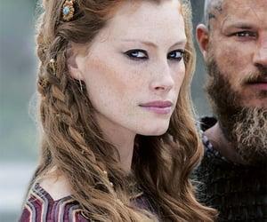 beauty, vikings, and kattegat image