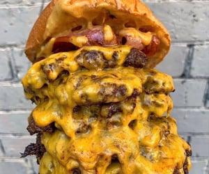 burgers, cheeseburger, and cheeseburgers image