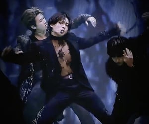black swan, jin, and rm image