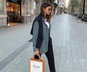 blogger, fashion, and green jacket image