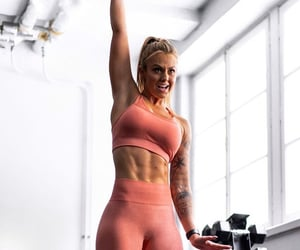 abs, girl, and healthy image
