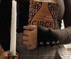 candle, sweater, and circe image