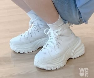 core, shoes, and white shoes image
