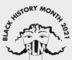 blackhistory and blacklivesmatter image