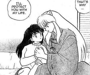 inuyasha, inukag, and manga image