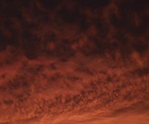 cielo, clouds, and naranja image