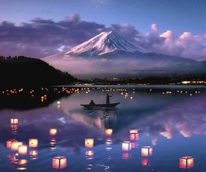 background, fuji, and mount fuji image