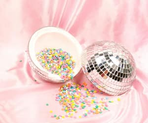 colorful, shiny, and disco image