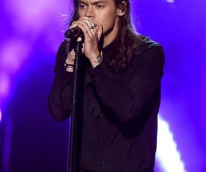 concert, singer, and longhair image