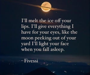 journalist, moon, and poem image