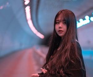 girl, mood, and purple image