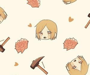 anime, patron, and fondo image
