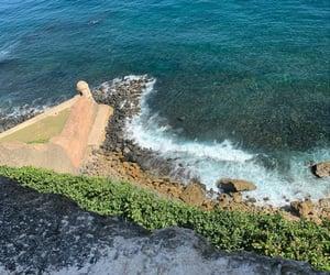 beach, el morro, and nature image