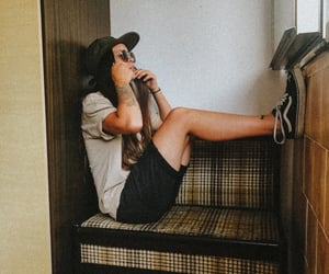 outfit, vans, and girl image